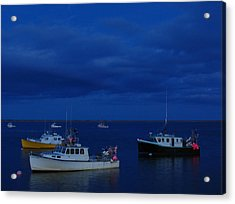 Chatham Pier Acrylic Print by Juergen Roth
