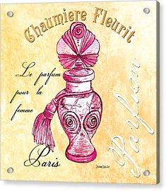 Chaumiere Fleurit Acrylic Print by Debbie DeWitt