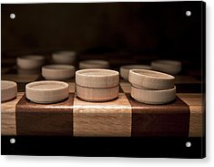 Checkers I Acrylic Print by Tom Mc Nemar