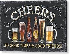Cheers  Acrylic Print by Debbie DeWitt
