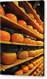 Cheese In Holland Acrylic Print by Harry Spitz