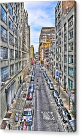 Chelsea Street From The High Line Acrylic Print by Randy Aveille