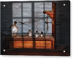 Chemist - The Science Experiment Acrylic Print by Mike Savad