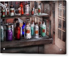 Chemistry - Ready To Experiment  Acrylic Print by Mike Savad