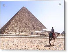 Cheops Pyramid - Egypt Acrylic Print by Joana Kruse