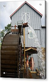 Cherokee Mill Acrylic Print by Laurie Perry
