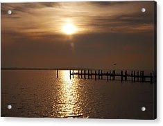 Chesapeake Morning Acrylic Print by Bill Cannon