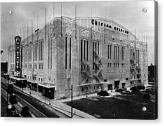 Chicago Stadium, Chicago, Illinois Acrylic Print by Everett