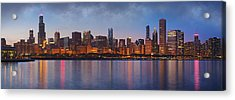 Chicago's Beauty Acrylic Print by Donald Schwartz