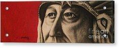 Chief Acrylic Print by Anastasis  Anastasi
