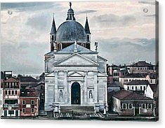 Chiesa Del Redentore Venice Acrylic Print by Tom Prendergast