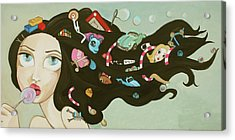 Childhood Memories Acrylic Print by Dania Piotti