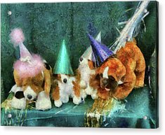 Children - Toys - Let's Get This Party Started Acrylic Print by Mike Savad