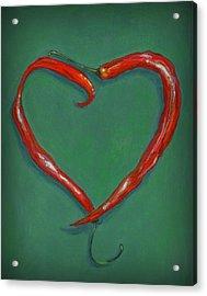 Chiles - Sweet Heat Acrylic Print by Karyn Robinson
