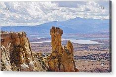 Chimney Rock New Mexico Acrylic Print by John Pierpont