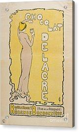 Chocolat Delacre Acrylic Print by MotionAge Designs