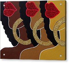 Chocolate 2 Honey Acrylic Print by Kimberly Lewis
