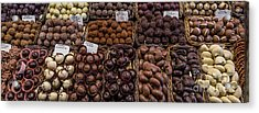 Chocolates  Acrylic Print by Svetlana Sewell