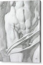 Christ 1c Acrylic Print by Valeriy Mavlo