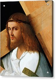 Christ Carrying The Cross Acrylic Print by Giovanni Bellini