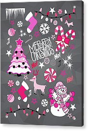 Christmas Acrylic Print by Mark Ashkenazi