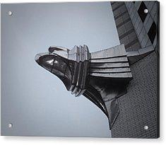 Chrysler Building Detail Acrylic Print by Naxart Studio