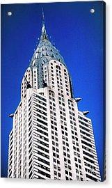 Chrysler Building Acrylic Print by John Greim