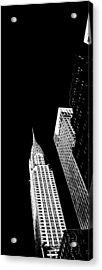 Chrysler Nights Acrylic Print by Az Jackson