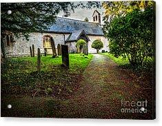 Church Berries Acrylic Print by Adrian Evans
