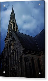 Church In Bournemouth - Uk Acrylic Print by Cambion Art