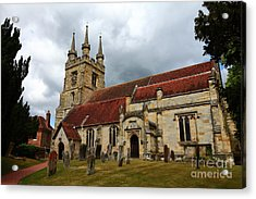 Church Of St John The Baptist Penshurst England Acrylic Print by James Brunker