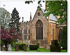 Church Of The Holy Trinity Stratford Upon Avon 3 Acrylic Print by Douglas Barnett
