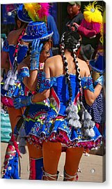 Chutillos Fiesta 24 Acrylic Print by Skip Hunt