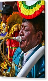 Chutillos Fiesta 25 Acrylic Print by Skip Hunt