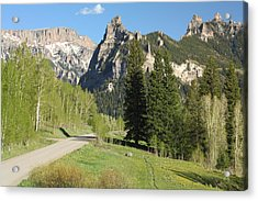 Cimarron Country Acrylic Print by Eric Glaser
