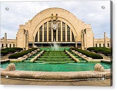 Cincinnati Museum Center Picture Acrylic Print by Paul Velgos