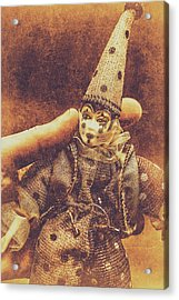 Circus Puppeteer  Acrylic Print by Jorgo Photography - Wall Art Gallery