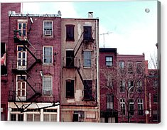 City Block Philly Acrylic Print by Jame Hayes