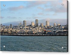 City By The Bay Acrylic Print by Connor Beekman