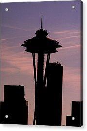 City Needle Acrylic Print by Tim Allen