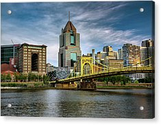City Of Bridges Acrylic Print by Rick Berk
