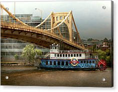 City - Pittsburg Pa - Great Memories Acrylic Print by Mike Savad
