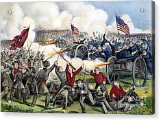 Civil War: Gettysburg, 1863 Acrylic Print by Granger