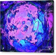 Clairvoyance Acrylic Print by Krissy Katsimbras