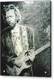 Clapton Acrylic Print by Mary Anne Hjelmfelt