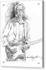 Clapton Riff Acrylic Print by David Lloyd Glover