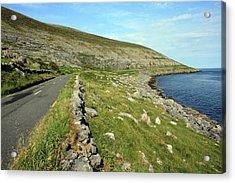 Clare Road Acrylic Print by John Quinn
