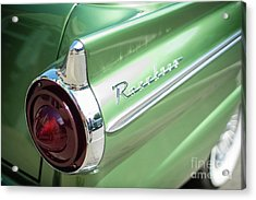 Classic 50s Ford Ranchero Acrylic Print by Mike Reid