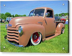 Classic Chevrolet Truck Acrylic Print by Marion Johnson