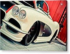 Classic Corvette Acrylic Print by Merrick Imagery